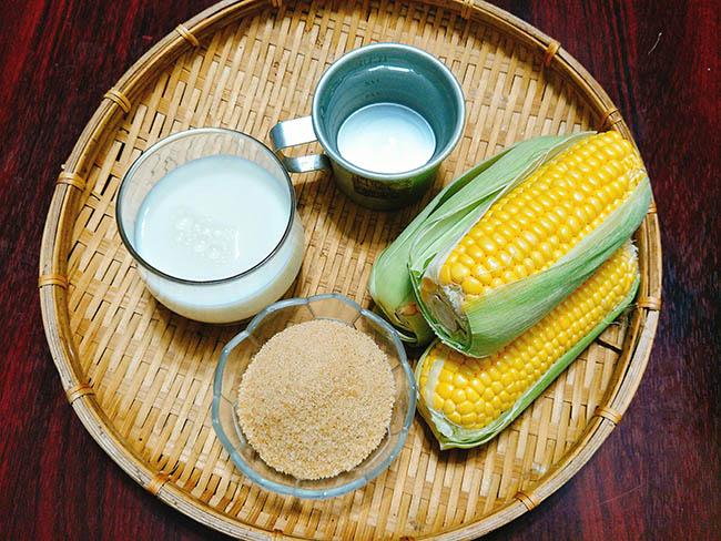 Cách làm sữa ngô tại nhà thơm thơm, ngậy ngậy già trẻ đều thích2