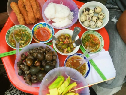 Các món ăn từ ốc