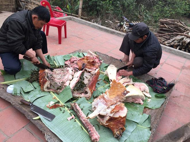 Ngất ngây món lợn quay xứ Lạng – Đặc sản cùng núi rừng Đông Bắc4