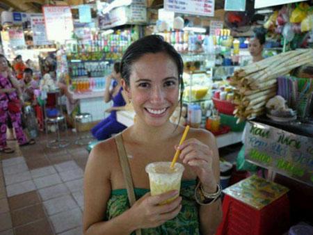 Nỗi nhớ thương ẩm thực Sài Gòn của cô nàng ngoại quốc1