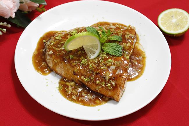 """""""Sang mồm"""" với món cá hồi sốt bơ béo ngậy, thơm lừng1"""