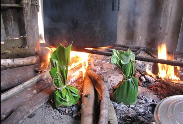 Thử thưởng thức món rêu nướng – Đặc sản của người Tày ở tỉnh Hà Giang4