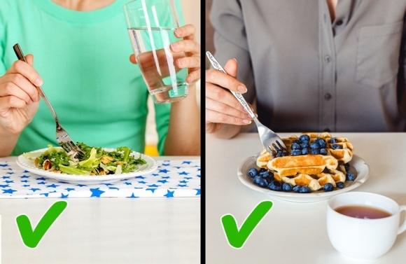 Trước giờ cứ nghĩ uống nước trong khi ăn là không tốt, nhưng sự thật không phải như vậy2
