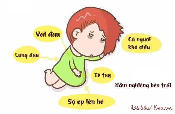 Nguyen nhan phu nu mang thai luc nao cung than kho ngu, mat ngu? Bo doc de hieu noi kho cua me nhe 1