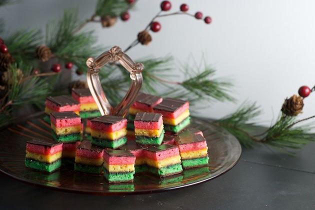 Bánh quy sắc màu