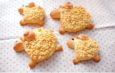 Cách làm Bánh hình chú cừu bông ngộ nghĩnh cho bé