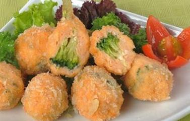 Chạo tôm bông cải cho bữa trưa hè