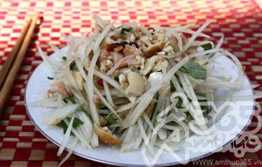Cách làm món Nộm đu đủ kiểu Thái