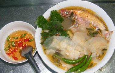 Canh cá diêu hồng nấu măng