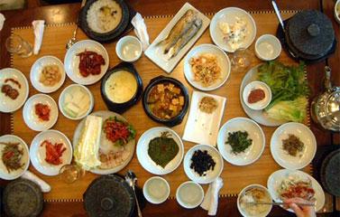 Nét độc đáo trong văn hóa ẩm thực Hàn Quốc