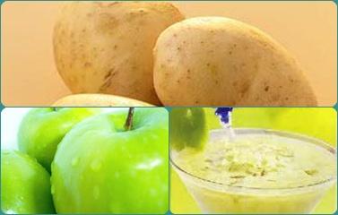 Sinh tố khoai tây táo xanh thơm ngon lạ miệng