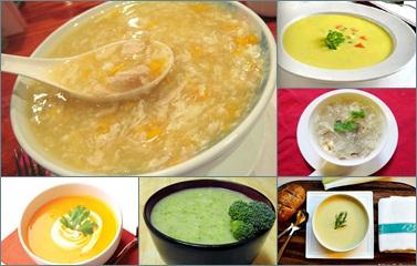 Những món súp ngon ngày Tết cho bé