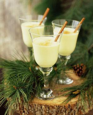 Cocktail trứng sữa dành cho mùa đông