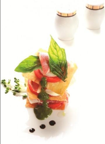 Salad thịt heo