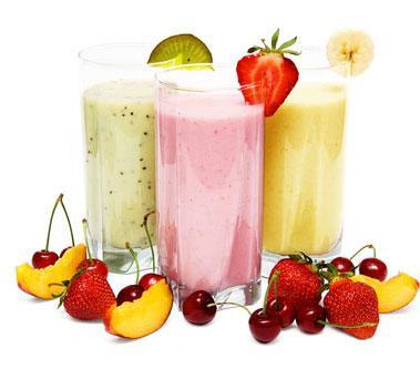 Sinh tố được xem là thức uống lành mạnh nhưng cũng chứa hàm lượng đường cao