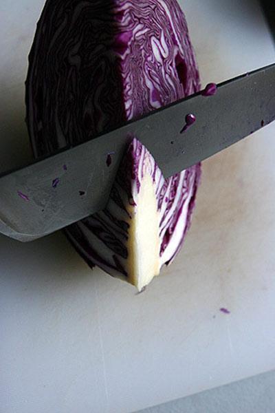 Cách muối bắp cải tím ngon cực - 5