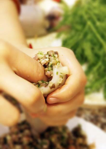 Đổi bữa với mực tươi nhồi thịt chiên, Ẩm thực, am thuc, muc nhoi thit, mon ngon, mon ngon de lam, bao