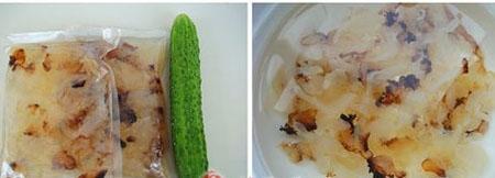 Hết ngán ngay với món nộm sứa dưa chuột