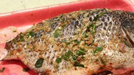Cá rô phi chiên sả, lá chanh, Ẩm thực, ca chien, ca nuong, am thuc, mon ngon, mon ngon de lam, bao