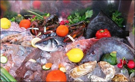 Chế biến bột chiên cho món cá và hải sản