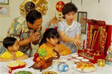 Thức ăn truyền thống trong ngày Tết của Trung Quốc