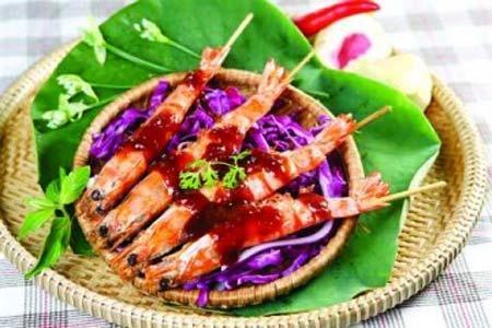 Những món tôm rất khó kiềm lòng, Ẩm thực, am thuc, tom nuong, mon ngon, mon ngon de lam, bao