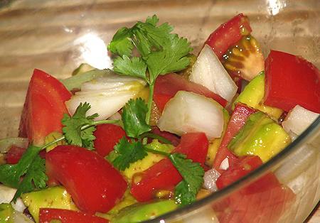 Đổi vị ngày Tết với salad rau quả
