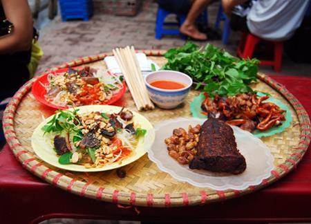 5 quán nộm đệ nhất Hà Thành, Bếp Eva, quán nộm ngon ở Hà Nội, quan nom ngon ha noi, nom ngon ha noi, dac san nom ha noi, bep eva