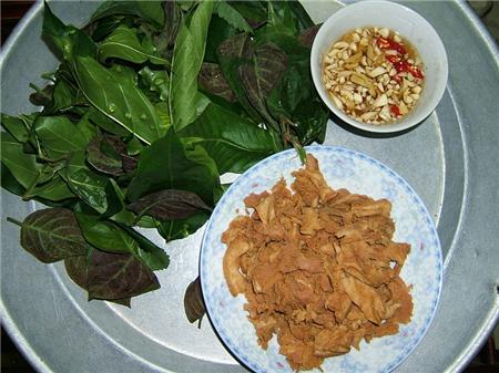 rau dang cay Một số món ăn ngon dân dã miền Phú Thọ