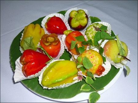 rau câu trái cây