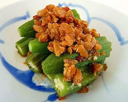 Salad đậu bắp cay lạ miệng, Bếp Eva, salad ngon, mon ngon, bep eva, mon ngon de lam, bao phu nu