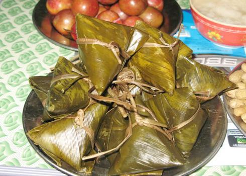 Bánh ú lá dừa, món ăn thường thấy trong các gia đình miền Tây vào dịp Tết Đoan ngọ. Ảnh: 360blog.