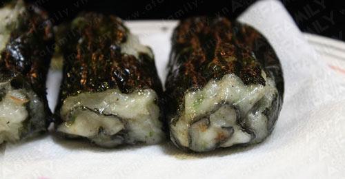 Ngon lạ chả cá cuộn rong biển, Ẩm thực, am thuc, sushi, cha ca, rong bien, mon khai vi, mon ngon