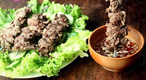 """Bữa tối ngon với bò xiên nướng """"siêu tốc"""", Khéo tay hay làm, Ẩm thực, am thuc, bo xien nuong, bo nuong, mon ngon, dau hao, mon ngon de lam"""