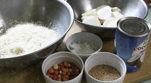 Xôi sắn - thơm bùi vị quê hương, Ẩm thực, am thuc, xoi san, xoi, mon ngon, mon ngon de lam