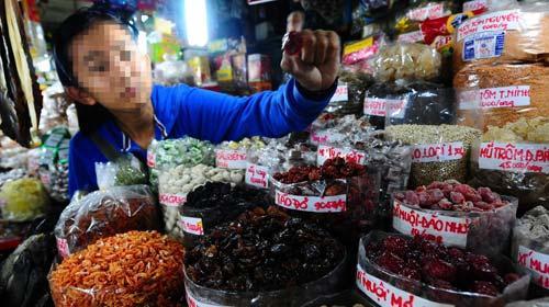 Xí muội Trung Quốc chứa chất cực độc tại Việt Nam