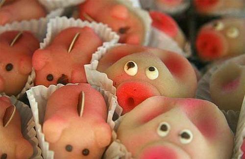 Món ăn từ lợn mang ý nghĩa màu mỡ, sung túc của người Áo.
