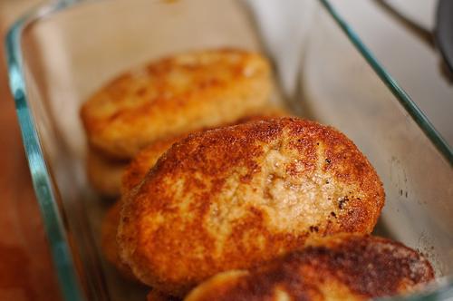 Đãi cả nhà món chả thịt gà cuối tuần, Bếp Eva, thịt gà, chả thịt, chả thịt gà, thịt viên, thịt gà viên, mon ngon de lam, mon ngon, bep eva, bao phu nu