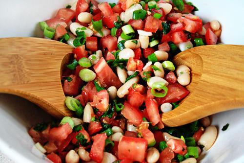 Đầu tuần nhâm nhi salad cà chua đậu - 7