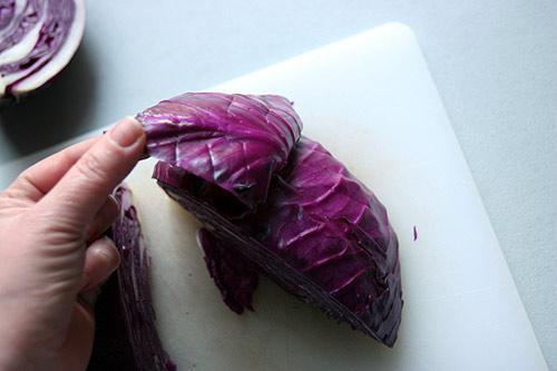 Cách muối bắp cải tím ngon cực - 4