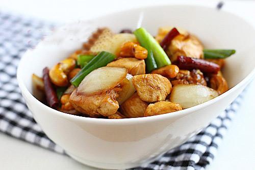 Thịt gà rang quá tuyệt!, Bếp Eva, thit ga rang, thịt gà rang muối, thit ga rang gung, ga rang, ga rang muoi, ga rang gung, bao phu nu