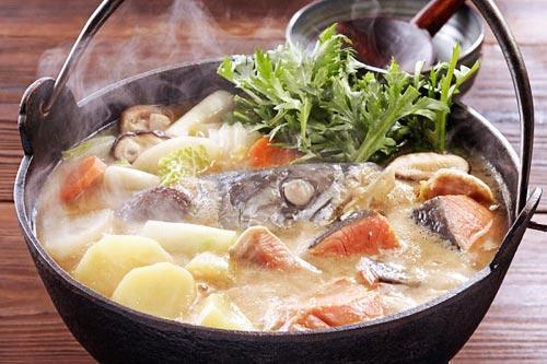 Lẩu cá hồi ấm áp ngày đông, Thực đơn – Công thức, Bếp Eva, lau ca hoi, ca hoi, mon ngon, bao phu nu,