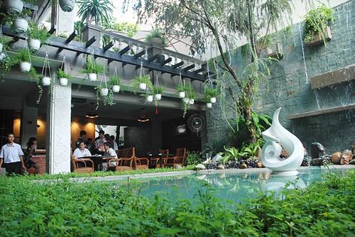 quán cà phê lãng mạn