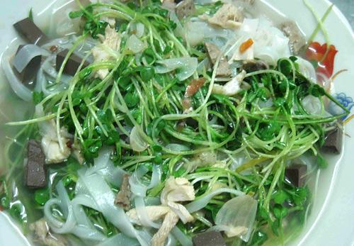 Rau mầm có thể dùng để chế biến nhiều món ăn.