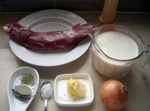 Lạ miệng thịt lợn xốt sữa và lá thơm, Ẩm thực, am thuc, thit xot sua, mon ngon, mon tay, mon ngon de lam, bao