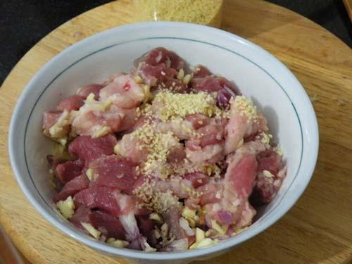 Làm mới với món thịt heo xào mắm ruốc, Ẩm thực, am thuc, thit heo xao, mam ruoc, mon ngon, dua chuot, mon ngon de lam