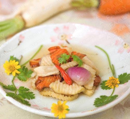 Ăn bánh chưng không thể thiếu dưa món, Ẩm thực, am thuc, banh chung, dua mon, dua kieu, mon ngon, mon ngon de lam, bao