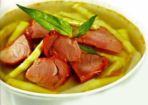 Hương vị cho tuần mới sẵn sàng, Ẩm thực, am thuc, mon ngon, đùi heo sấy vissan, phi lê bò, jambon, cần tây