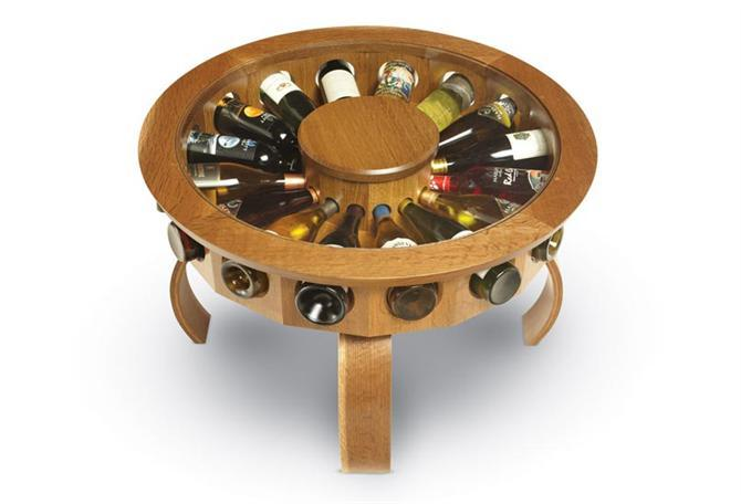 Trưng bày rượu quý với tủ Don Vino - Archi
