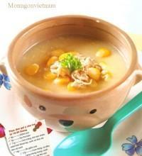 Các món súp ngon cho bé